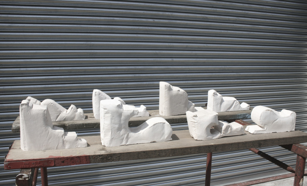 Various sizes Cast plaster
